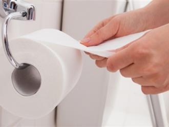 Sai lầm chết người khi dùng giấy vệ sinh