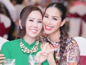 Hoa hậu Thu Hoài lên tiếng trước tin đồn yêu Phạm Hương, bị bỏ bùa ngải