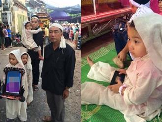 Ba năm, ba đứa trẻ đau đớn đội tang cả cha và mẹ