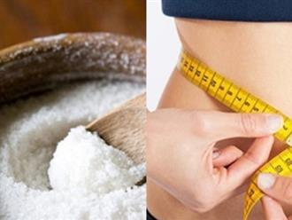 Mỡ bụng dày bao nhiêu cũng xẹp lép sau 2 ngày nhờ đắp muối theo công thức này cực hiệu quả