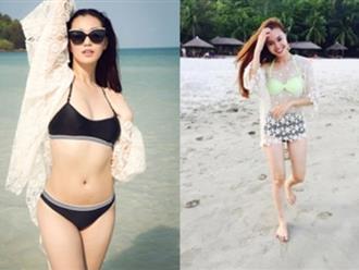 Những kiểu bikini-cover quyến rũ khi đi biển