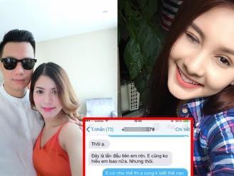Lộ tin nhắn 'người thứ ba' mồi chài diễn viên Việt Anh là Bảo Thanh?