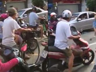 Sau va chạm, hành xử của người đàn ông khiến cả phố ngỡ ngàng