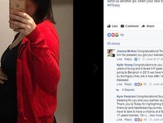 """Thông báo tin có thai, bà mẹ nhận về """"cơn bão like"""" và lý do khiến ai cũng cảm động"""