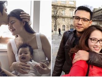 """3 gia đình sao Việt """"bố soái ca, mẹ ngọc nữ sinh con thiên thần"""" ai nấy đều yêu mến"""