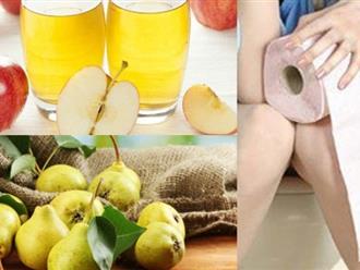 Dứt điểm táo bón với 2 loại nước ép trái cây rẻ tiền