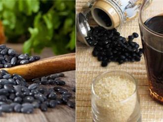 Những điều cần chú ý khi uống nước đỗ đen rang hàng ngày