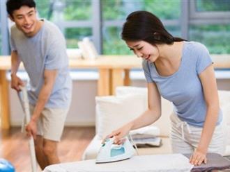5 tuyệt chiêu khiển chồng làm việc nhà răm rắp