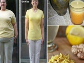 3 công thức trà gừng giúp tiêu mỡ bụng, giảm cân siêu tốc