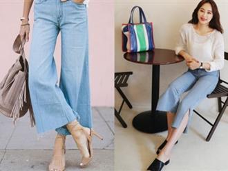"""Từng kiểu quần jeans, diện cùng giày thế nào thì """"phải phép"""" nhất"""