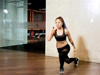 Bài tập toàn thân đẩy nhanh tốc độ giảm mỡ, giúp cơ thể săn chắc quyến rũ như Wonder Woman