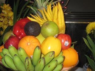 Những loại quả nên thắp hương trên bàn thờ để nhiều tài lộc