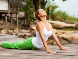 Muốn khỏe người, trẻ tâm hồn thì cứ tập những động tác yoga này