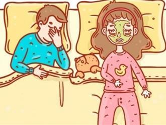 Không đùa đâu, là phụ nữ đi ngủ cũng phải đẹp!