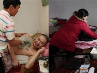 Vợ lấy chồng mới, cùng nhau chăm sóc chồng cũ bại liệt