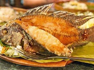 Bật mí tuyệt chiêu rán cá vàng giòn, không sát chảo thơm ngon hơn ngoài hàng