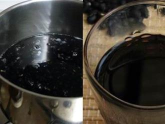 """Nấu đỗ đen đúng cách này để uống thì da xấu đến mấy cũng đẹp lên, căng mịn lại trẻ ra cả chục tuổi mà các chị em đang """"săn lùng"""""""