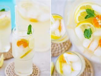 Cách làm nước dừa chanh quất thơm mát đã khát mùa hè