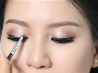 Mách bạn cách trang điểm mắt đẹp tự nhiên