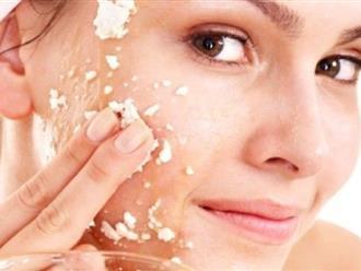 5 cách tẩy tế bào chết cho mặt giúp khuôn mặt mềm mịn, trắng sáng bất ngờ