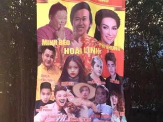 Phẫn nộ vì Minh Béo, Linh Ka, Tùng Sơn diễn chung sân khấu với Hoài Linh, Phi Nhung?