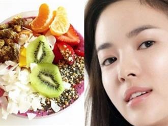 4 lợi ích để 'đẹp thiên hạ vô địch' của sinh tố trái cây