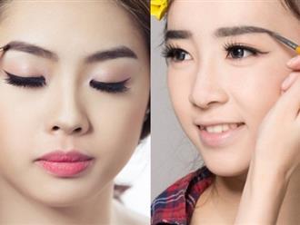 Cách trang điểm lông mày Hàn Quốc giúp bạn gái xinh lung linh