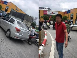 Tài xế ô tô bị đấm chảy máu mũi sau va chạm giao thông ở Hà Nội