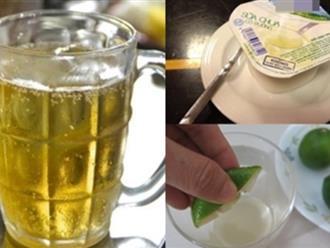 Bất ngờ với 2 cách trị sạch tất cả các loại mụn trên da chỉ bằng 1 cốc bia tươi