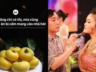 Có cho vàng nghệ sĩ Việt cũng không dám uống nước này trước khi biểu diễn