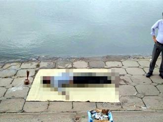 Hà Nội: Phát hiện thi thể một người đàn ông bốc mùi hôi thối giữa hồ Linh Đàm