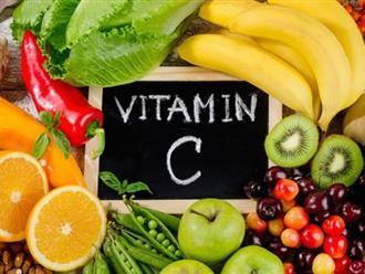 Uống vitamin C trắng da, xu hướng làm đẹp các bạn gái không thể ngó lơ