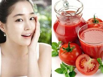 Cách tắm trắng bằng cà chua có thật sự hiệu quả?