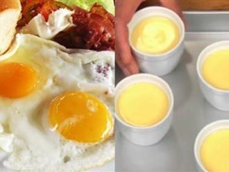 2 quả trứng gà – 3 cách vi diệu giúp thánh gầy từ nhỏ cũng phải có da có thịt, lên hẳn 3kg/tuần