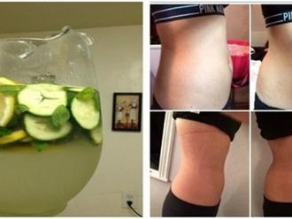 Giảm 3kg/tuần và diệt gọn bụng ngấn mỡ với 2 loại nước uống thần kỳ sau