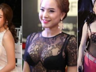 Đỗ Mỹ Linh, Angela Phương Trinh...mắc lỗi trang phục, fan sửng sốt