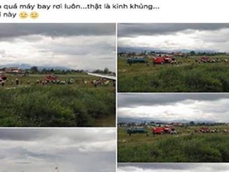 Người tung tin máy bay rơi ở Nội Bài là một phụ nữ bán mỹ phẩm online