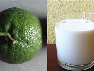 Chuẩn bị 1 quả cam + 1 gói sữa tươi rồi làm theo cách này, da xấu đến đâu cũng trắng đẹp không tỳ vết, không lo bắt nắng
