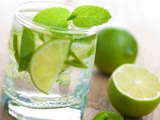 Uống nước chanh kiểu này vừa không đau dạ dày, vừa giảm cân lại làm tan sỏi thận dù to cỡ nào
