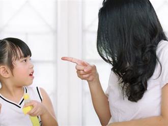Bố mẹ không nên nói với con những điều dưới đây