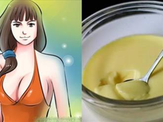 Thánh lép cũng phải tăng nhanh 5cm, ngực to như hotgirl sau 15 ngày nhờ 3 công thức siêu rẻ từ 2 quả trứng gà