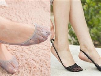 'Đi giày mà không đi tất thà đi chân đất còn hơn': Đúng cả với giày cao gót