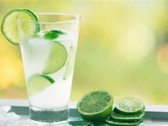 Cách uống nước chanh làm tiêu sỏi thận đơn giản, không đau đớn