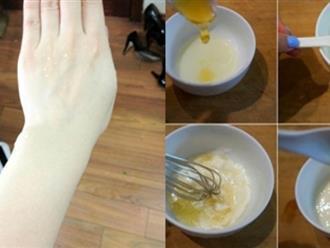 Không dùng kem trộn, cô gái thoa sữa chua không đường lên người trước khi tắm mà da đẹp ngỡ ngàng, trắng bật 2, 3 tone