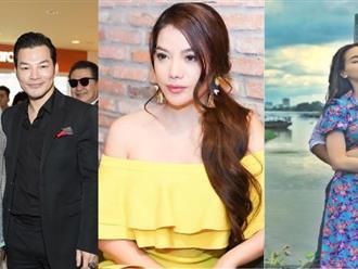 Trong lúc tình cũ Kim Lý mải lo 'tán tỉnh' Hà Hồ, Trương Ngọc Ánh lại được chồng cũ Trần Bảo Sơn dẫn 'người tình tin đồn' đến chúc mừng ra mắt phim