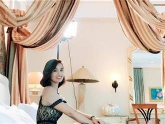 Sao Việt 7/8: Lã Thanh Huyền khoe kỳ nghỉ siêu sang trong căn phòng tổng thống
