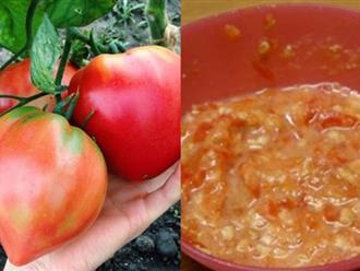 Tuyệt chiêu hô biến da đen nhẻm hóa trắng bóc sau 7 ngày chỉ bằng 1 quả cà chua