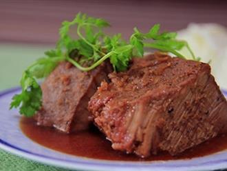 Làm thịt bò rim kiểu này mới là ngon tuyệt ai ăn 1 lần là nhớ mãi