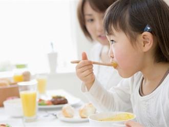 Thói quen khi cho trẻ ăn khiến con bạn thấp còi và kém thông minh hãy bỏ ngay