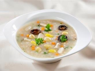 Những thực phẩm dinh dưỡng và món cháo ngon nên cho trẻ ăn khi bị tiêu chảy